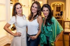 Luciana Branco, Dani Carvalho e Patricia Gaiotto